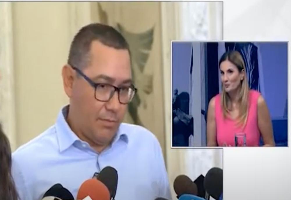 Cum minte Ponta despre datoriile Realitatea. Anca Alexandrescu: Ponta știe exact cine le-a făcut!