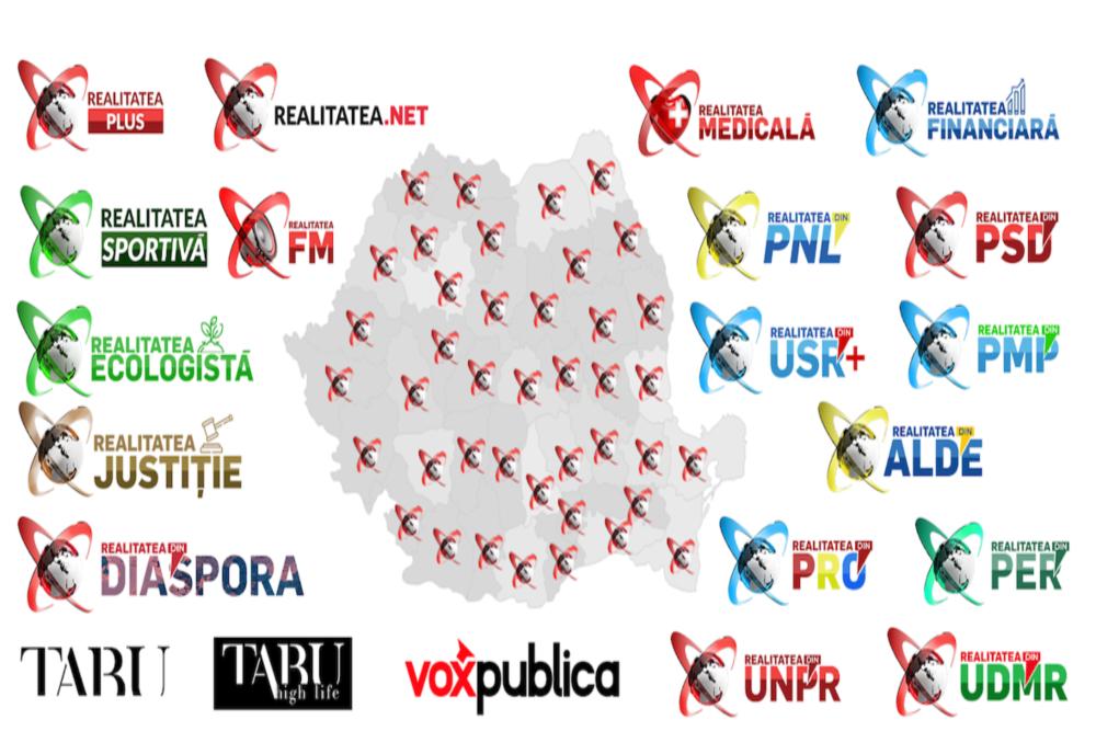 Realitatea.net rămâne, și în august, în topul online-ului românesc. Locul 2, la nivel național. Realitateasportiva.net și-a consolidat poziția