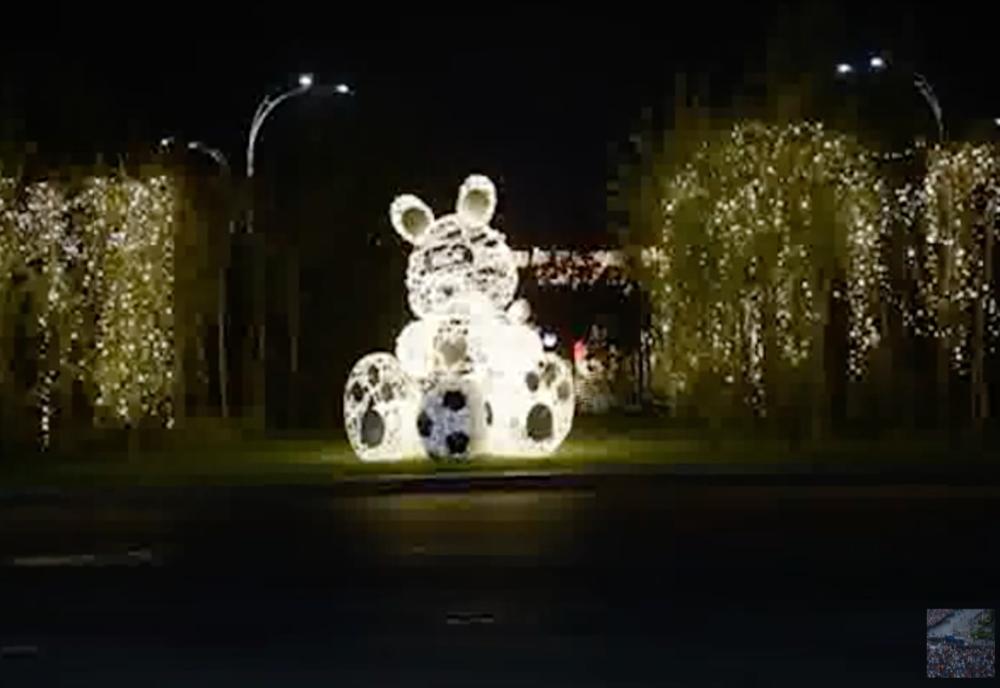 Încă un sector din Capitală fără luminițe de Crăciun