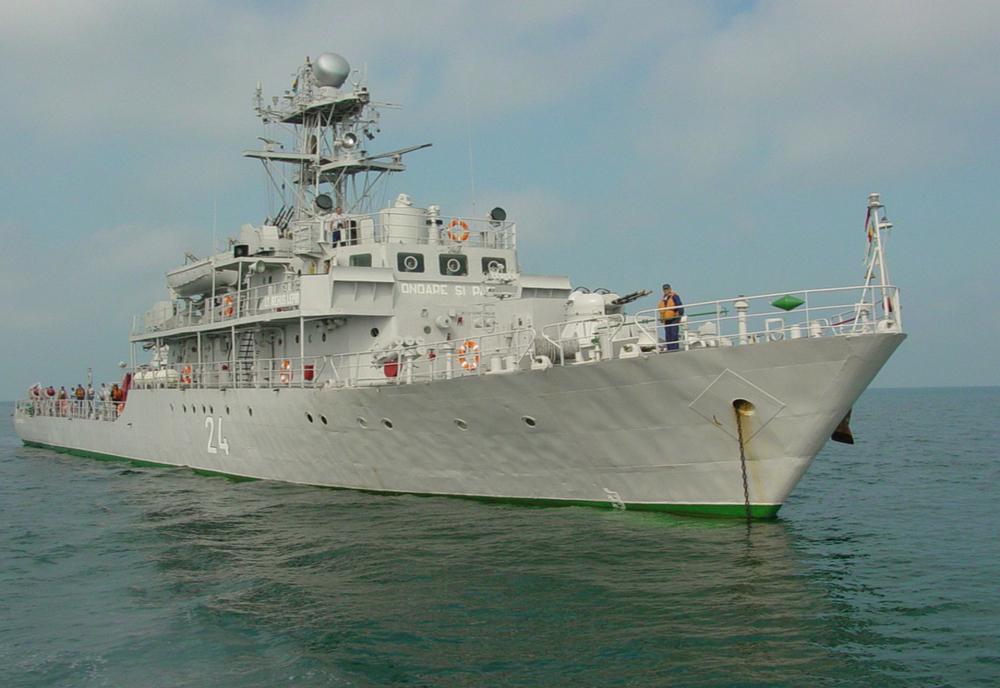 Prima navă militară românească integrată într-o Grupare Navală NATO în anul 2021