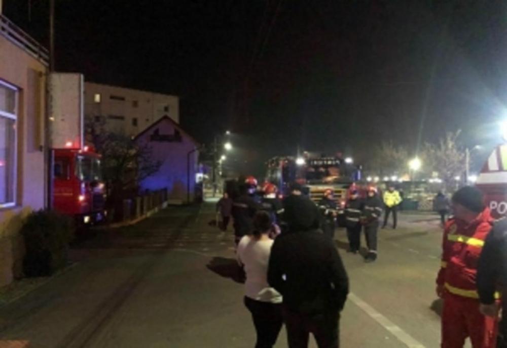 Bloc din Ploiești, evacuat din cauza mirosului de gaze
