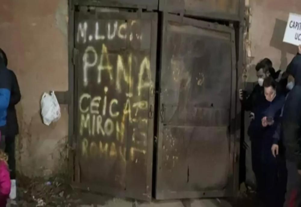 Minerii din Mina Lupeni ies din subteran după 7 zile de auto-blocare