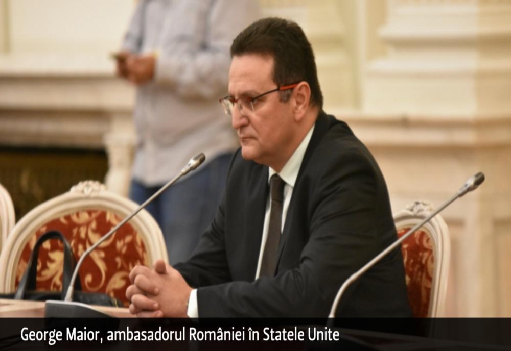 George Maior și Emil Hurezeanu, ambasadorii României în SUA și Germania, rechemați în țară de președintele Iohannis