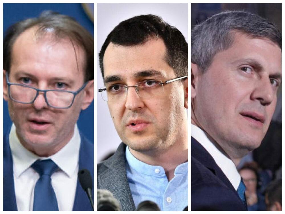 """Cîțu îl somează public pe Vlad Voiculescu, Dan Barna privește situația """"cu umor"""""""