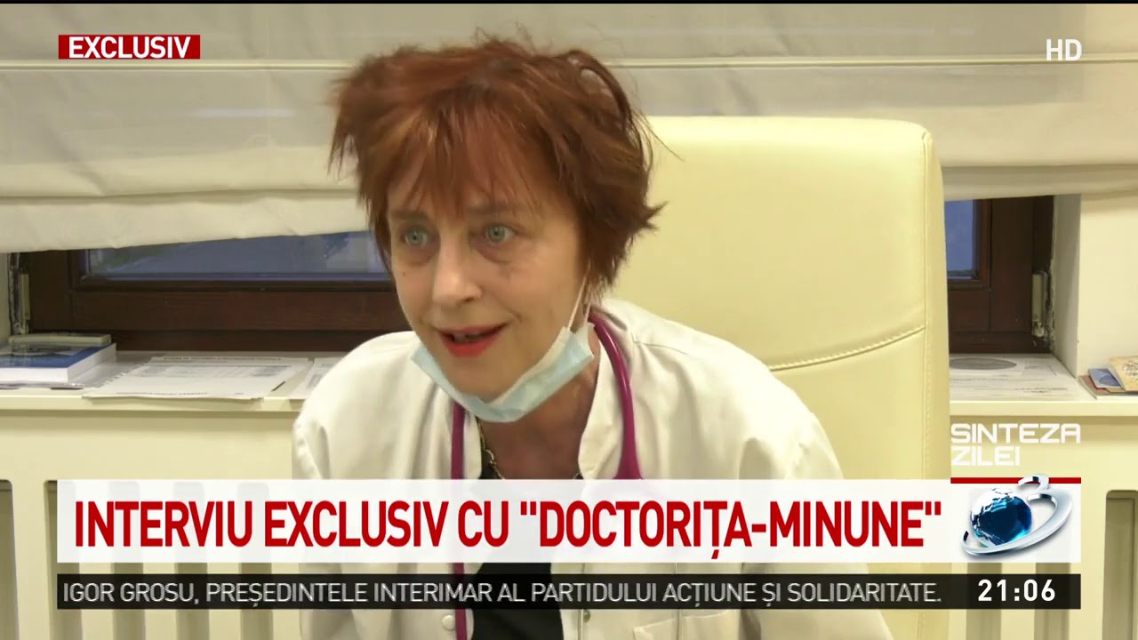 """Ce ar trebui să pățească """"doctorița-minune"""" pentru agravarea situației bolnavilor din Oradea?"""