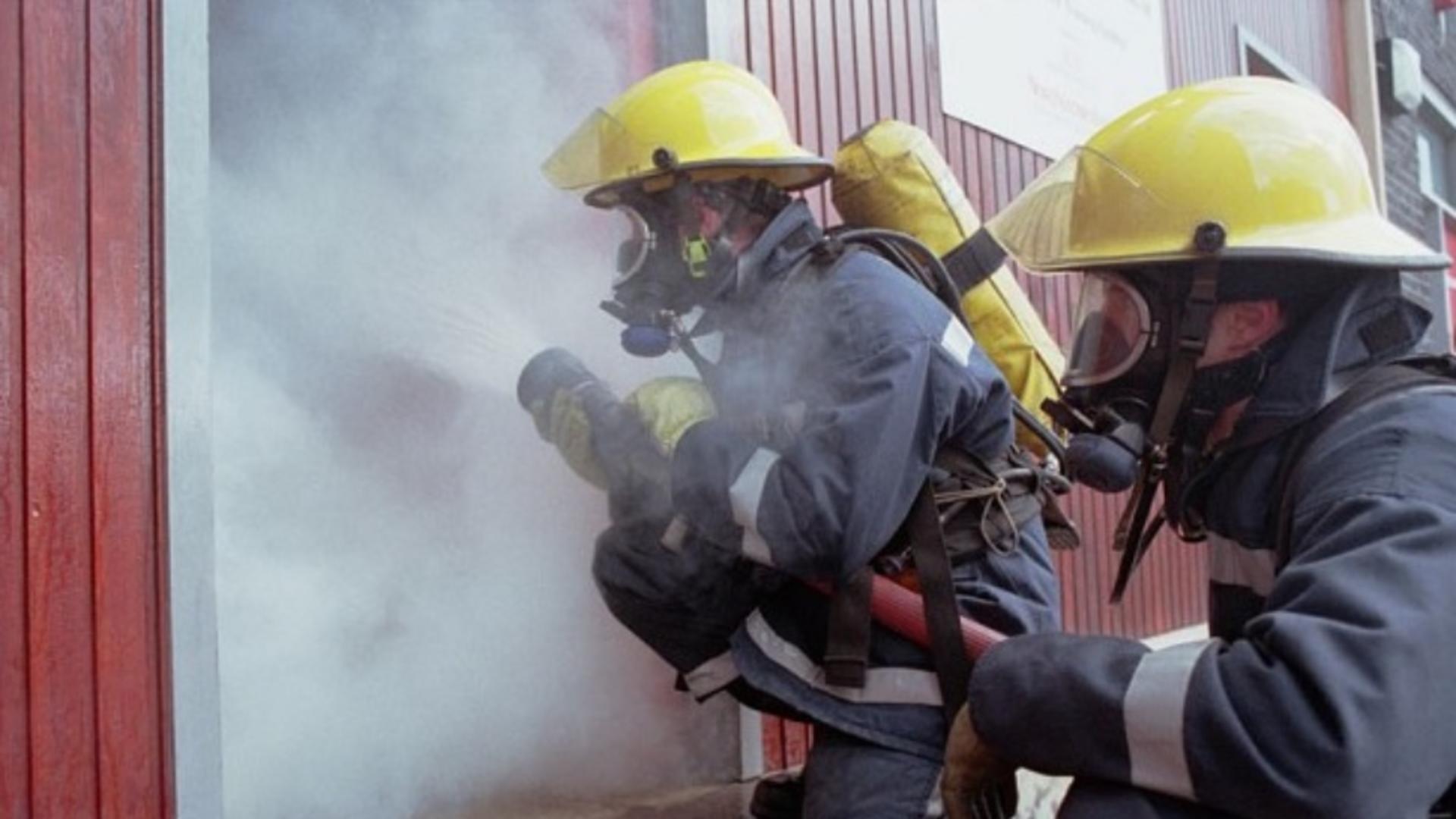 De ce au greșit pompierii din Craiova adresa spitalului anunțat că este în flăcări?