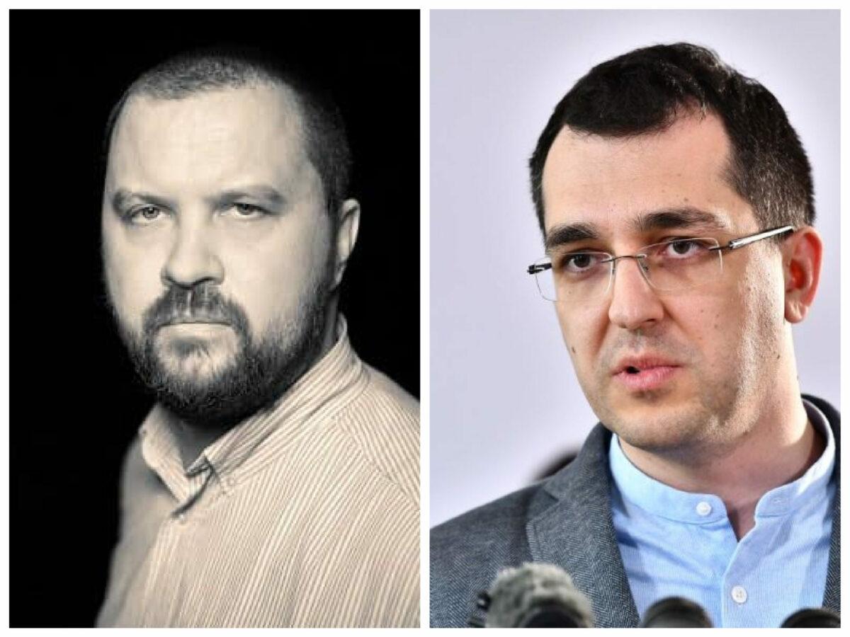 """Dan Tăpălagă, atac dur la Vlad Voiculescu: """"De unde a găsit atâtea resurse de ipocrizie să facă pe revoltatul?"""""""