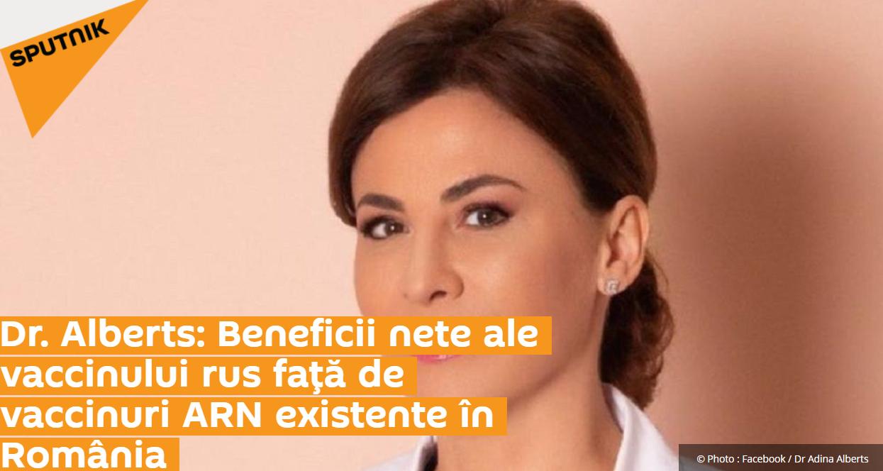 Adina Alberts se spală pe mâini cu vaccinul AstraZeneca și face pe niznaiul cu moartea Corneliei Catanga