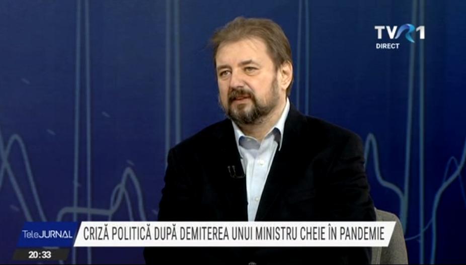 """Cristian Pîrvulescu: """"Când ai o căsătorie de interes, partenerii se respectă. USRPLUS are trei scenarii"""""""