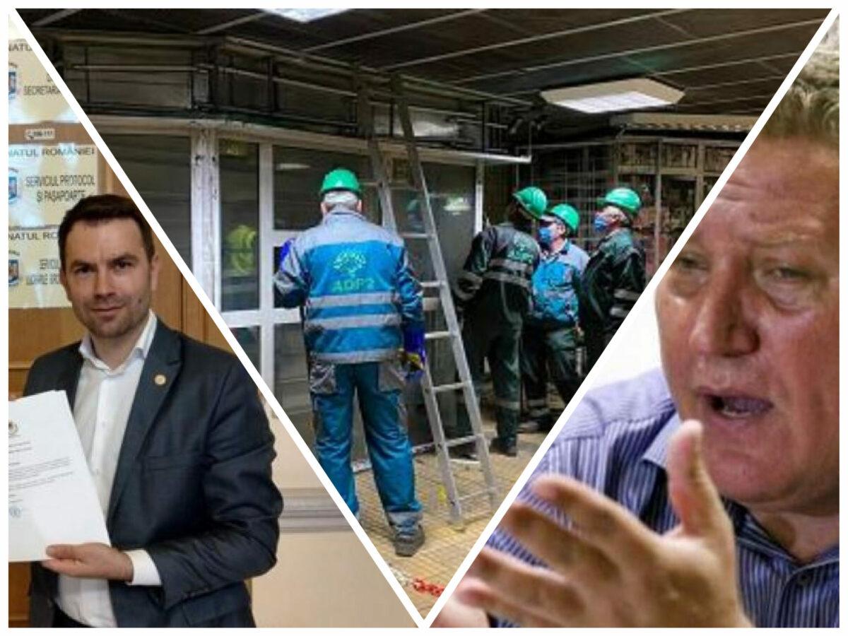 Demolarea imperiului Rădoi. Zboară chioșcurile controlate de sindicatul de la Metrou, Drulă se ține de cuvânt