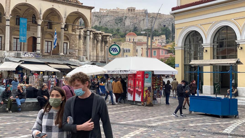 GRECIA: la magazin, cu programare. Pandemia a blocat economia, dar relaxarea nu se face oricum