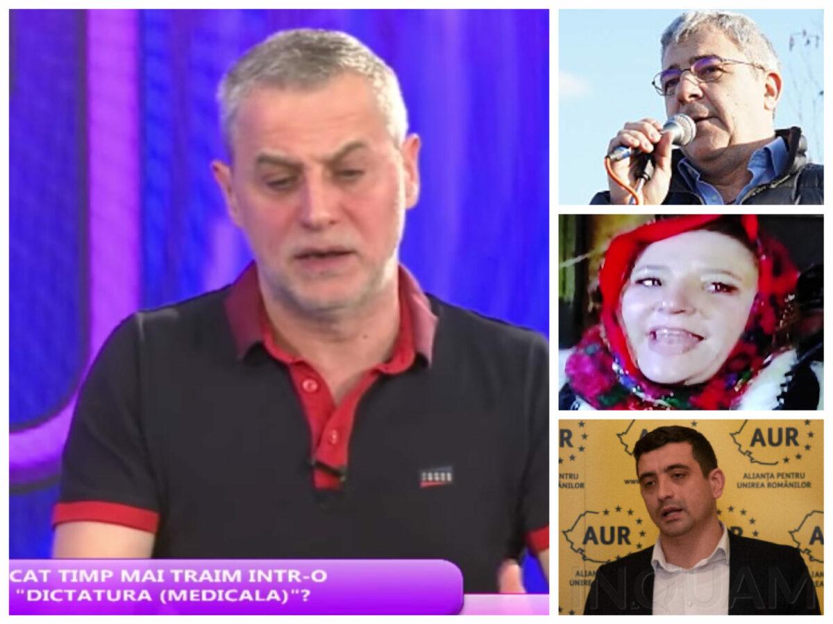 """Radu Moraru cheamă """"poporul"""" la arme, moarte prin COVID și cere unirea Diplan-Șoșoacă-Simion"""