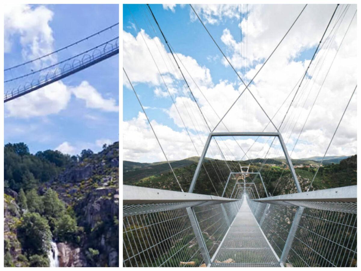 Portugalia inaugurează cel mai lung pod pietonal suspendat din lume: 516 Aroca, la 60 de kilometri de Porto