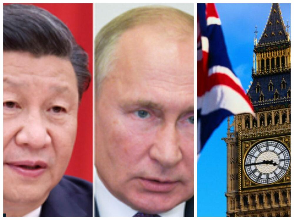 Rusia – cea mai mare amenințare pentru Marea Britanie. China, pericol pentru economia engleză