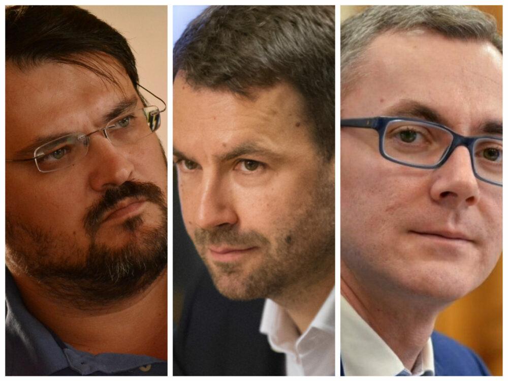 """Ei sunt """"noul USRPLUS""""? Ghinea-Drulă-Ion, axa pentru salvarea guvernării anti-PSD cu Florin Cîțu prim-ministru"""
