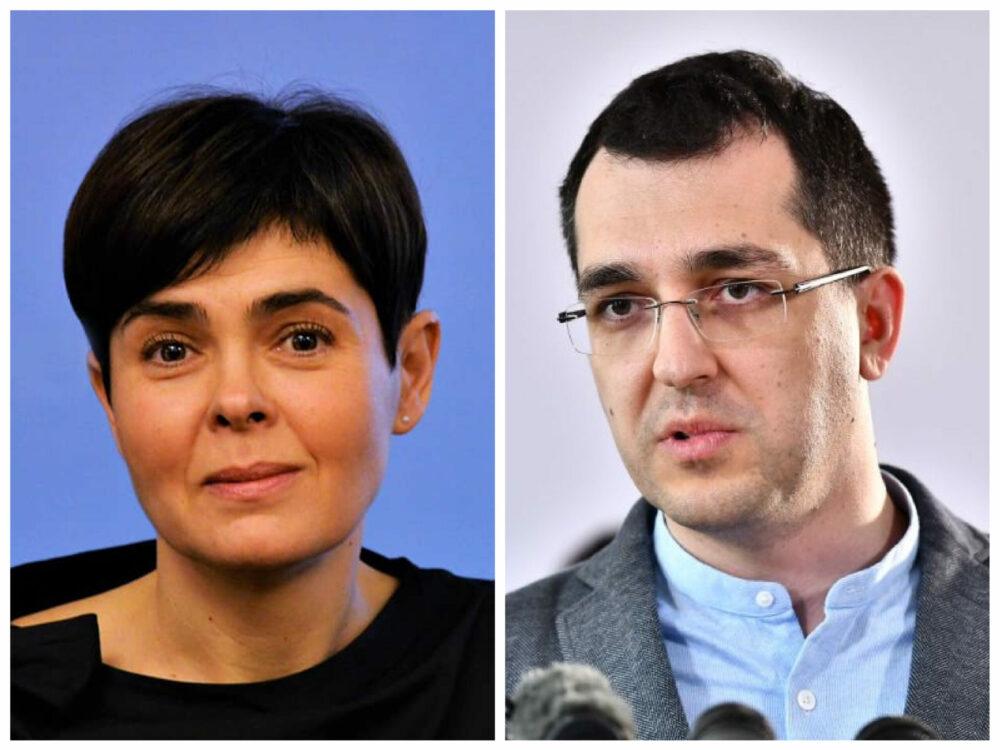 Cutremur la Sănătate: Vlad Voiculescu și Andreea Moldovan, demiși de Cîțu!