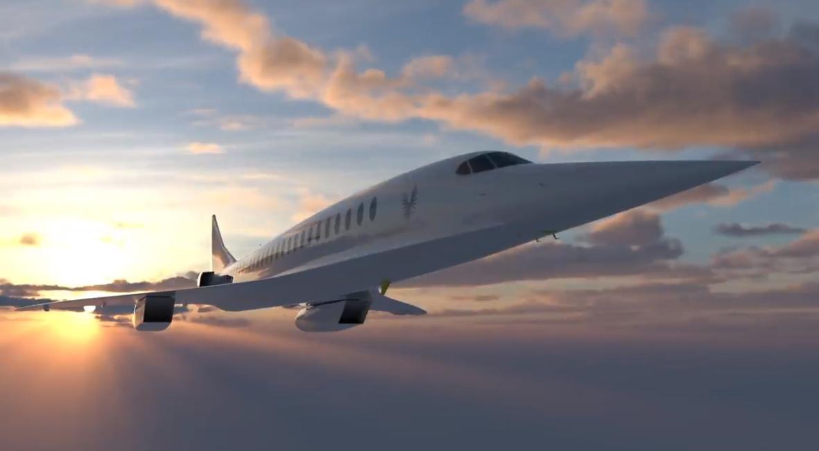 O călătorie cu avionul supersonic Boom va dura 4 ore spre orice loc din lume și va costa 100 de dolari