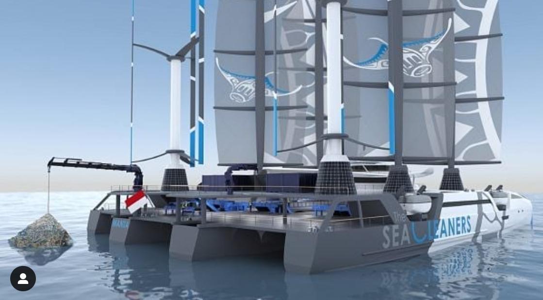 VIDEO. Manta – catamaranul gigant care va curăța oceanele și mările lumii de plastic