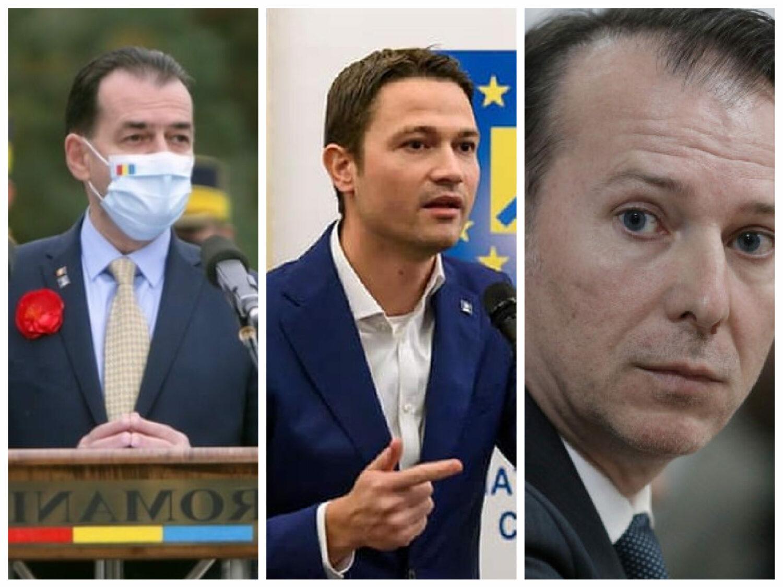 SONDAJ. Cîțu – locul 1, Sighiartău îi ia fața lui Orban și trece pe 2, liderul PNL ocupă a treia poziție