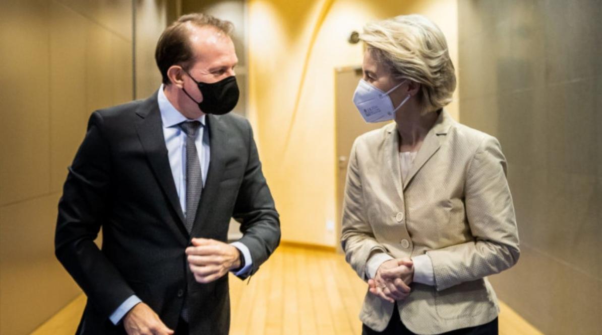 Cîțu, la masa Europei. Premierul anunță că vin bani mulți pentru mari investiții, liderii UE îi întind mâna