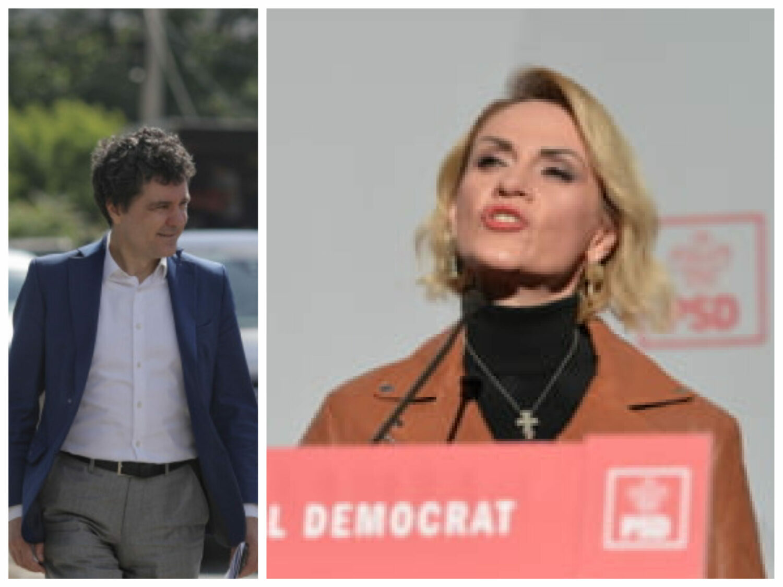 """100.000 € cadou la PSD, dintr-un """"tun"""" de 6 milioane €. Firea face pe niznaiul, Nicușor Dan a tăiat tot"""