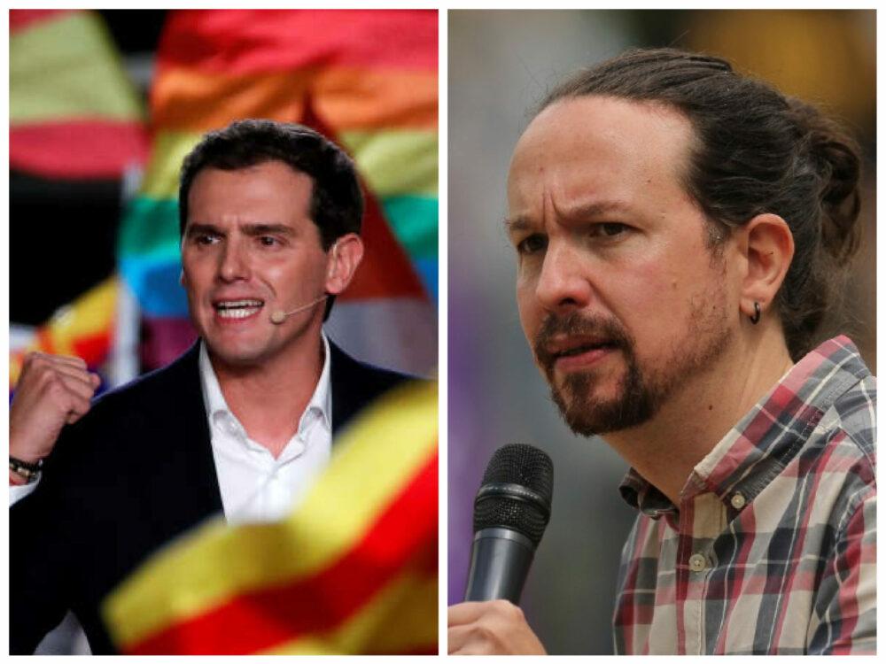 """Eșecul """"USR""""-ului spaniol și onoarea politică. Demisiile lui Pablo Iglesias și Albert Rivera arată că partidele noi nu… """"#Rezistă"""""""