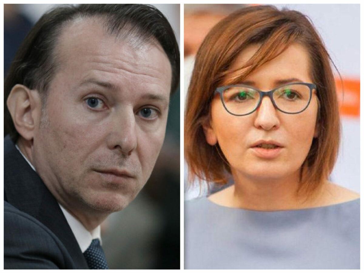 """Cîțu, sătul de mentalitatea de """"loser"""" a Ioanei Mihăilă. """"De 30 de ani auzim că nu se poate"""". Premierul scoate Guvernul în stradă"""