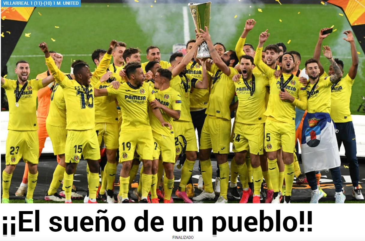 """VIDEO. """"Visul unui sat"""". Cum a ajuns micuțul Villarreal marea capitală a Europei fotbalistice, într-o noapte magică"""