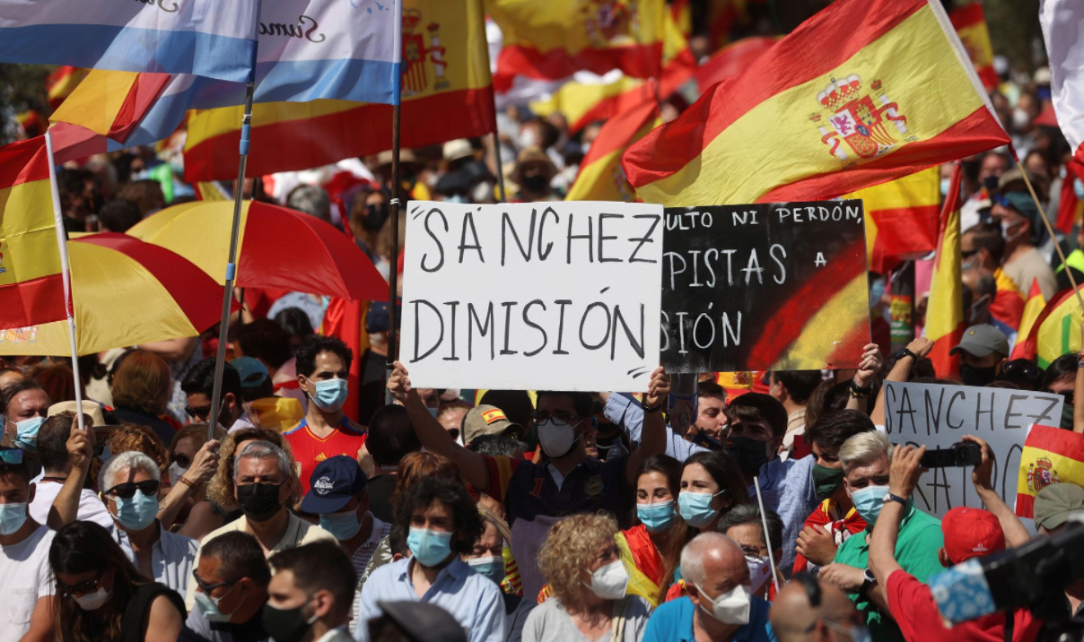 VIDEO. Spania, DA, grațiere – NU! Protest al Opoziției față de intenția Guvernului Sanchez de a-i ierta pe liderii independentiști catalani