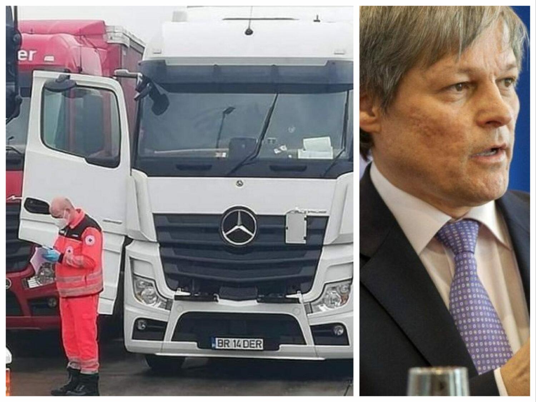 """Scrisoare către Cioloș: """"Opriți asasinarea șoferilor de TIR în parcări!"""""""