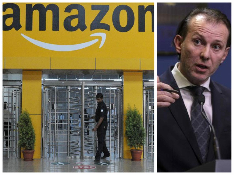 Visul lui Cîțu, cu marile investiții: Amazon bagă 3 miliarde $, dar în Spania…