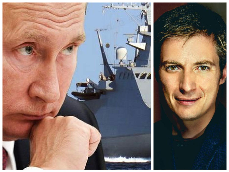 """Andrei Caramitru, cu ochii pe atacul lui Putin din Marea Neagră: """"Au aruncat 4 bombe în fața navei!"""""""