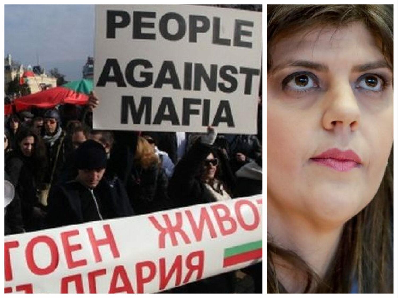 Kovesi, eroina #Rezist la Sofia și în UE, sperietoare la București. Șefa Parchetului European, primii pași la sud de România