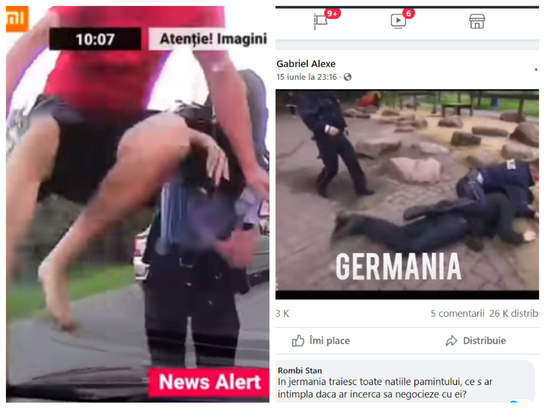 VIDEO. Poliția din Buzău, Poliția din Germania. Exemple despre ce înseamnă forța legii în țările civilizate