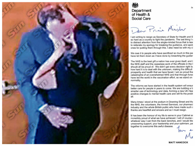 Sex-scandal de proporții în Guvernul de la Londra. Ministrul Sănătății demisionează după o poză amoroasă