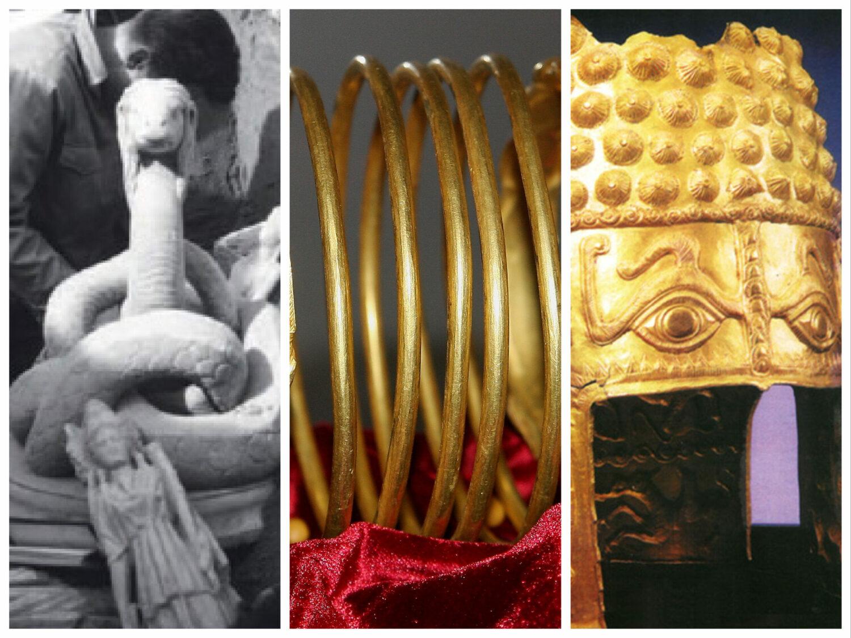 Frăția Spania-România, probată cu Brățările dacice, Coiful de aur și Șarpele Glykon pe masă