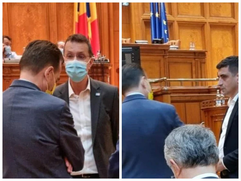 Imaginile pentru care Orban este acuzat de trădare în favoarea USR-AUR
