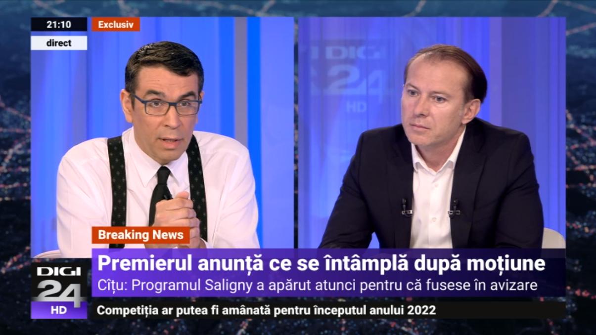 """Cîțu: """"Nu poți avea două guverne în unul. Premierul Cioloș a plătit bani la PNDL, atunci era hoție?"""""""